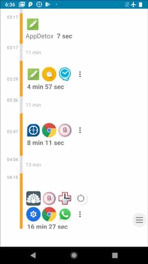 Screenshot 20180726 183605 DzTechs - أفضل 10 تطبيقات لمساعدتك على الإبتعاد عن هاتفك