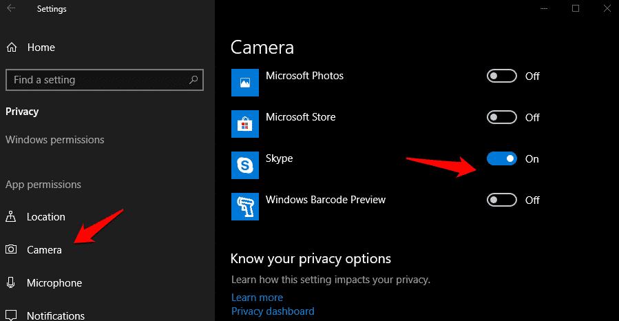 الكاميرا لا تعمل على Skype على Windows 10؟ إليك كيفية إصلاحها