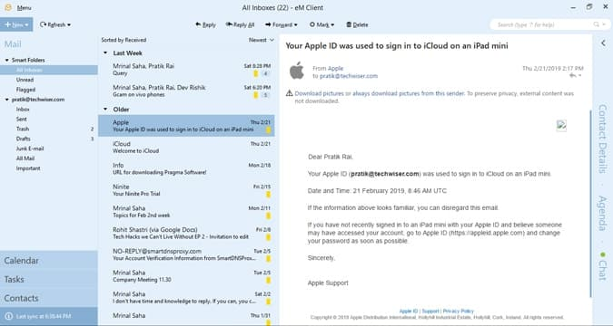 أفضل بدائل Outlook المجانية لنظام التشغيل Windows 10
