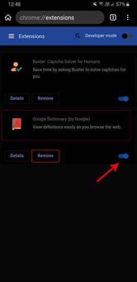 Comment installer les extensions Chrome pour le bureau sur Android - Android