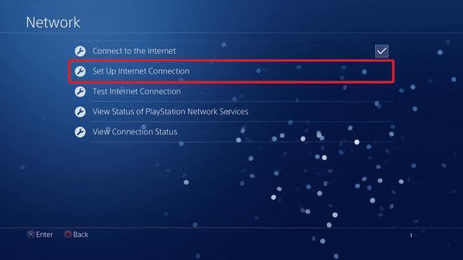 set up internet connection DzTechs - كيفية تغيير DNS على PS4 ومتى يجب عليك القيام بذلك؟