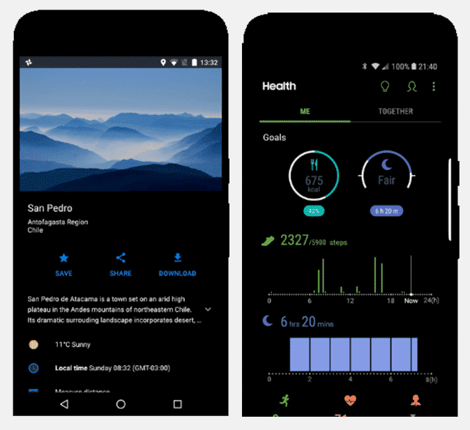 Meilleurs thèmes et thèmes pour le substrat pour Android enraciné - Android