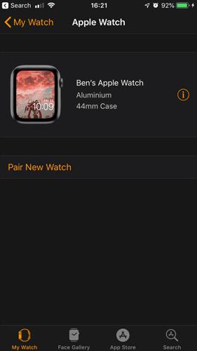 كيفية إلغاء الإقتران واستعادة بيانات Apple Watch الخاصة بك