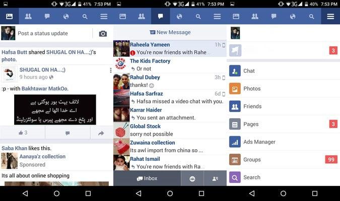 7 est une alternative à Facebook pour Android meilleure que l'application officielle.