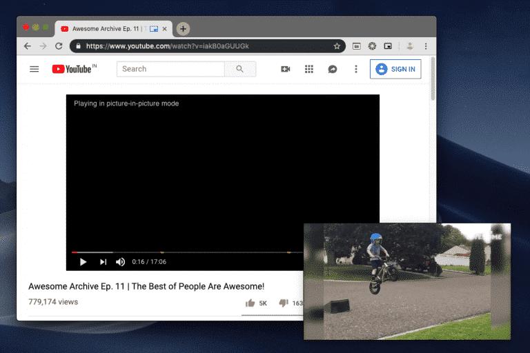 كيفية الحصول على وضع صورة في صورة (PIP) على MacOS