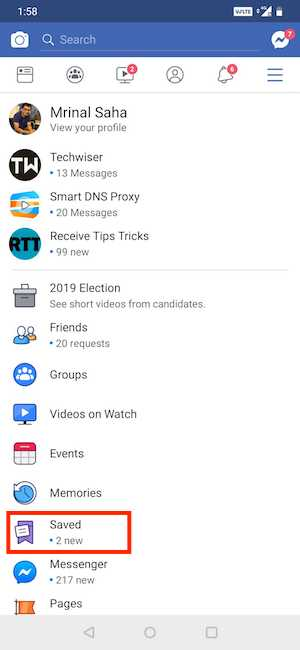 Screenshot 20190429 135859 min DzTechs - 8 مواقع / تطبيقات لتنزيل مقاطع الفيديو من Facebook على Android