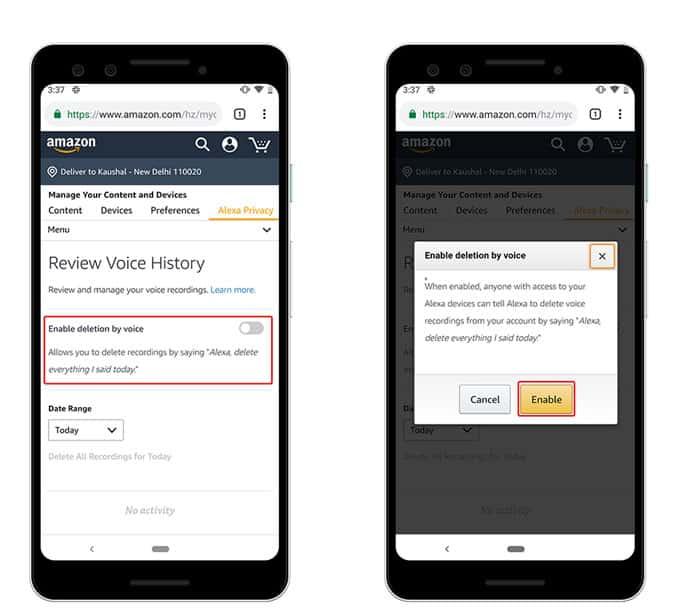 Comment supprimer des enregistrements audio de Google Assistant, Alexa et Siri?
