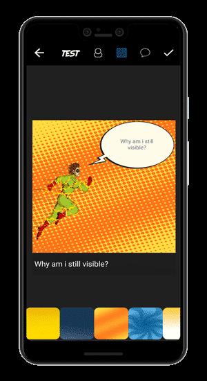comic strip maker min DzTechs - أفضل تطبيقات إنشاء الرسوم الكوميكية لإطلاق العنان للجانب الإبداعي الخاص بك