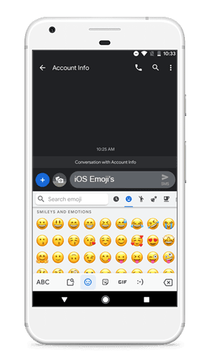 iOS Emojis min DzTechs - أفضل 12 من وحدات Magisk لتجربتها في 2020
