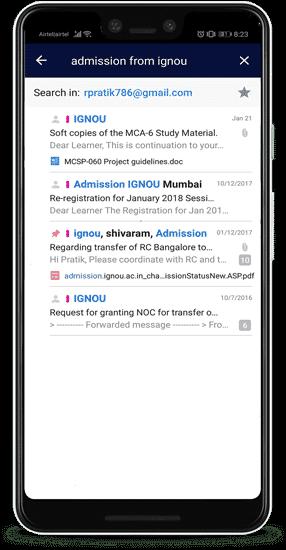 smart search sender min DzTechs - الميزات والنصائح المخفية لـ Spark for Android