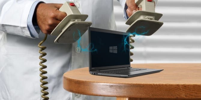1 windows 10 wont boot 670x335 DzTechs - Windows 10 لا يقوم بالتمهيد ؟ إصلاحات لتشغيل الكمبيوتر مرة أخرى