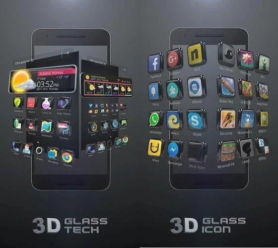 5 est l'une des meilleures fonctionnalités et arrière-plans de CM Launcher 3D