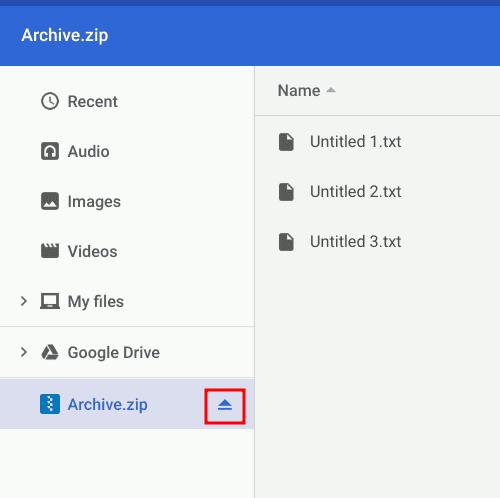 كيفية ضغط و فك ضغط الملفات على Chromebook - Chromebook