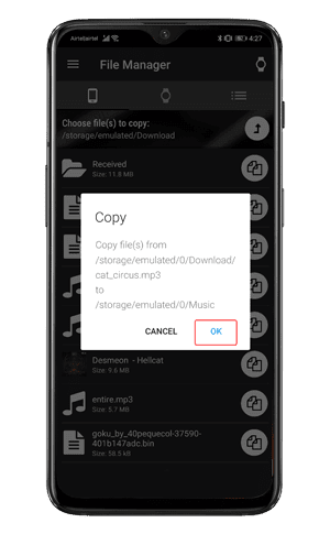 copy songs min DzTechs - كيفية تشغيل الموسيقى على Android Watch دون هاتفك أو إنترنت