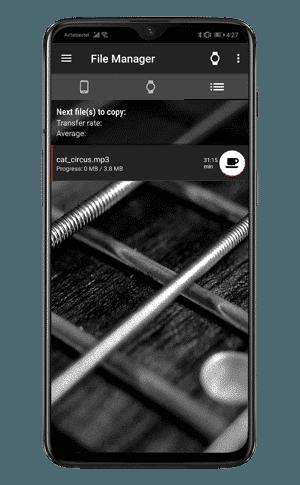 copy status window min DzTechs - كيفية تشغيل الموسيقى على Android Watch دون هاتفك أو إنترنت