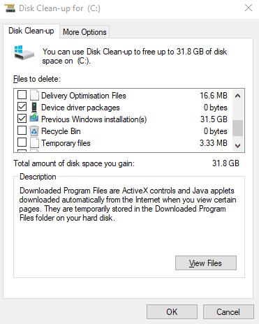 Meilleures façons de libérer de l'espace de stockage sur le disque dur sous Windows 10 - Windows