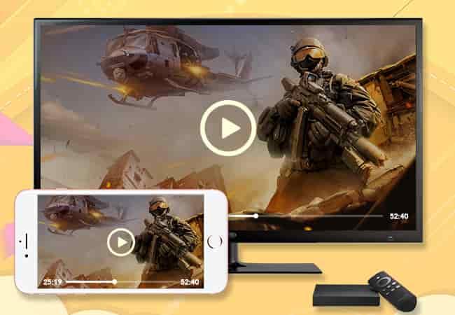 mirroriphonefiretv 1 min DzTechs - كيفية عرض شاشة iPhone على Amazon Fire TV Stick