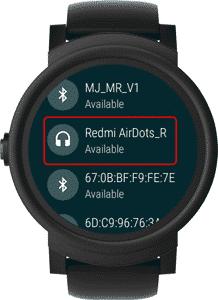 redmi airdots available min DzTechs - كيفية تشغيل الموسيقى على Android Watch دون هاتفك أو إنترنت