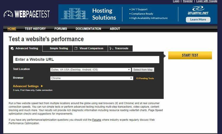 6 outils de test de vitesse de site utiles pour voir à quelle vitesse votre site se charge - SEO
