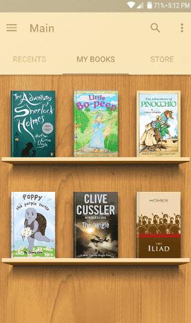 Meilleures applications de lecture de livres électroniques pour smartphones Android