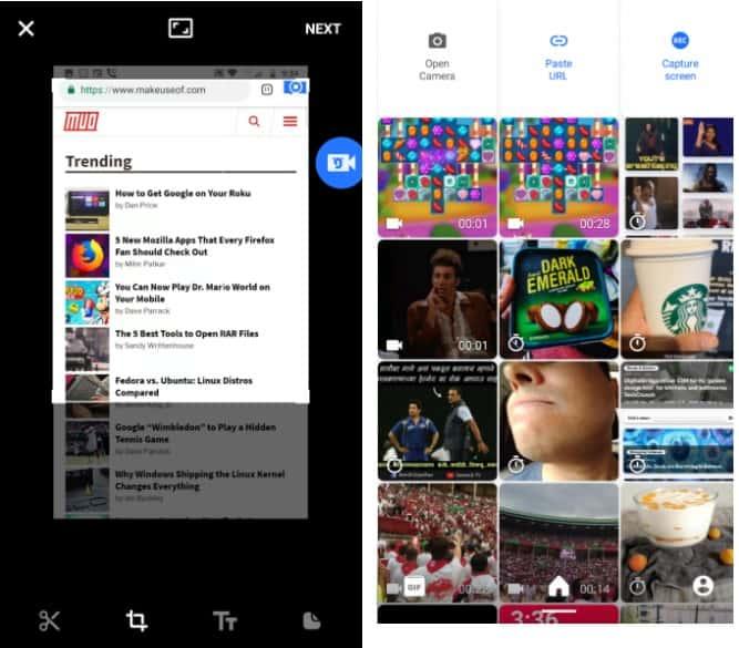 أفضل التطبيقات لإنشاء صور GIF متحركة أو تحريرها لأجهزة iOS و Android - Android iOS
