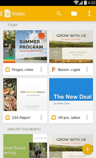 أفضل 7 تطبيقات لـ العرض التقديمي لهواتف Android و iOS - Android iOS