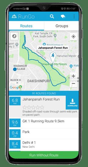 أفضل التطبيقات للعثور على مسارات الجري القريبة منك