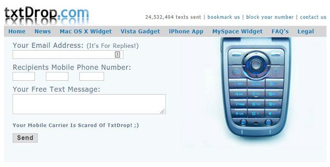 أفضل المواقع لإرسال رسائل نصية مجانية من الكمبيوتر إلى الهواتف المحمولة (SMS) - مواقع