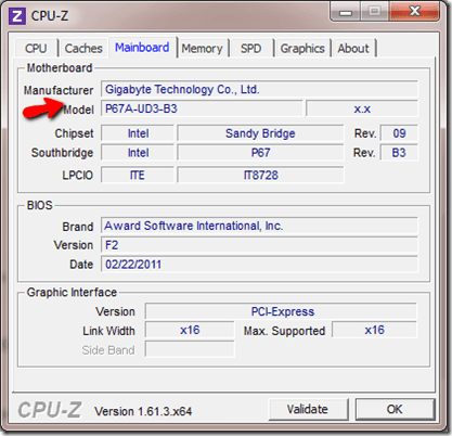 2012 08 13 2244 thumb DzTechs - كيفية التحقق من نوع ورقم طراز اللوحة الأم على جهاز الكمبيوتر الخاص بك