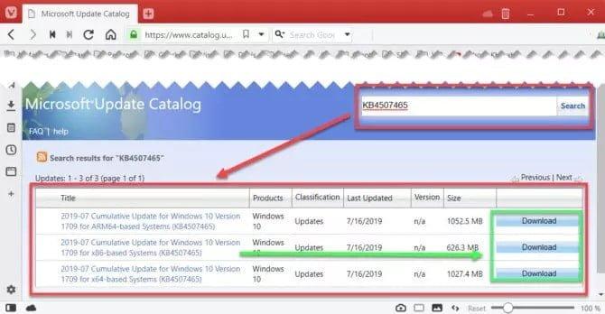 كيفية تنزيل أي تحديث تراكمي لنظام التشغيل Windows 10 مباشرةً - الويندوز