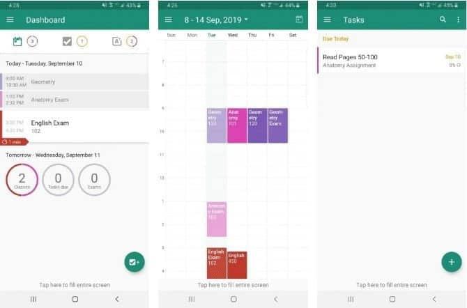 أفضل تطبيقات التخطيط للدراسة لجميع الطلاب لأجهزة iOS و Android - Android iOS