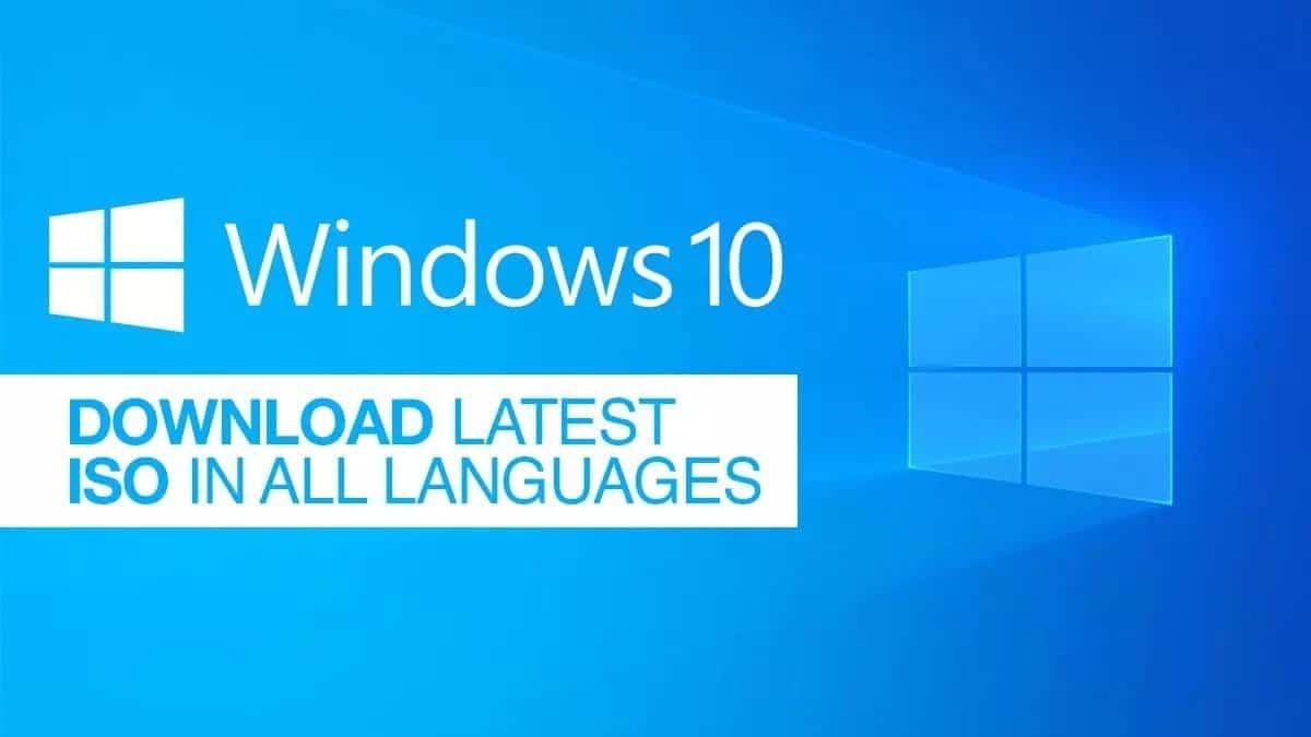 تنزيل أحدث إصدار من Windows 10 بصيغة ISO لجميع اللغات
