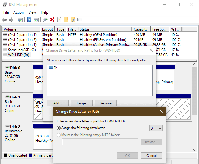 Le lecteur externe ne s'affiche pas ou n'est pas détecté? Voici les correctifs - Windows