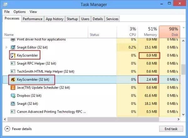 Comment se protéger du keylogger sous Windows