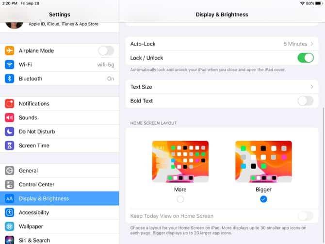 iPadOSHomeScreenBigger DzTechs - نظام التشغيل iPadOS : كل ما تحتاج إلى معرفته عن جديد هذا النظام