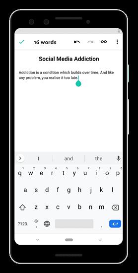 أفضل تطبيقات الكتابة الإبداعية لأجهزة Android و iOS - Android iOS