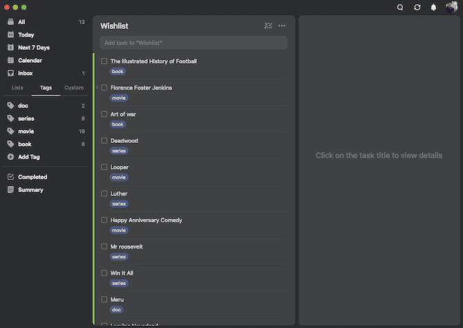 كيفية استخدام TickTick لمزيد من الإنتاجية: الملاحظات والقراءة لاحقًا والمهام