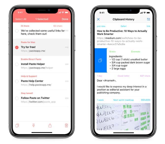 أفضل تطبيقات مدير الحافظة لأجهزة iPhone و iPad
