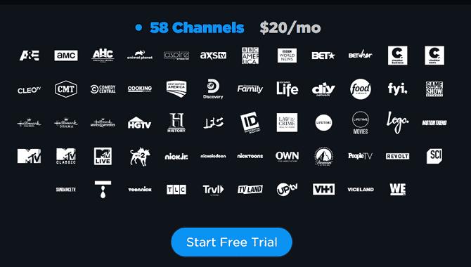 أفضل خدمات البث التلفزيوني المباشر للتخلص من أسلاك تلفزيون الكابل