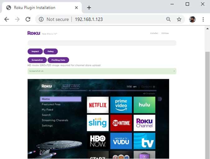 Comment faire une capture d'écran d'un appareil Roku - Roku