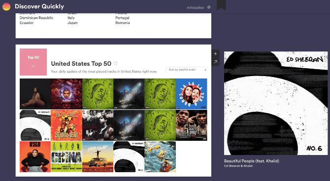 spotify sites apps discover music playlists discover quickly DzTechs - أفضل تطبيقات الويب لتحسين تجربتك على Spotify
