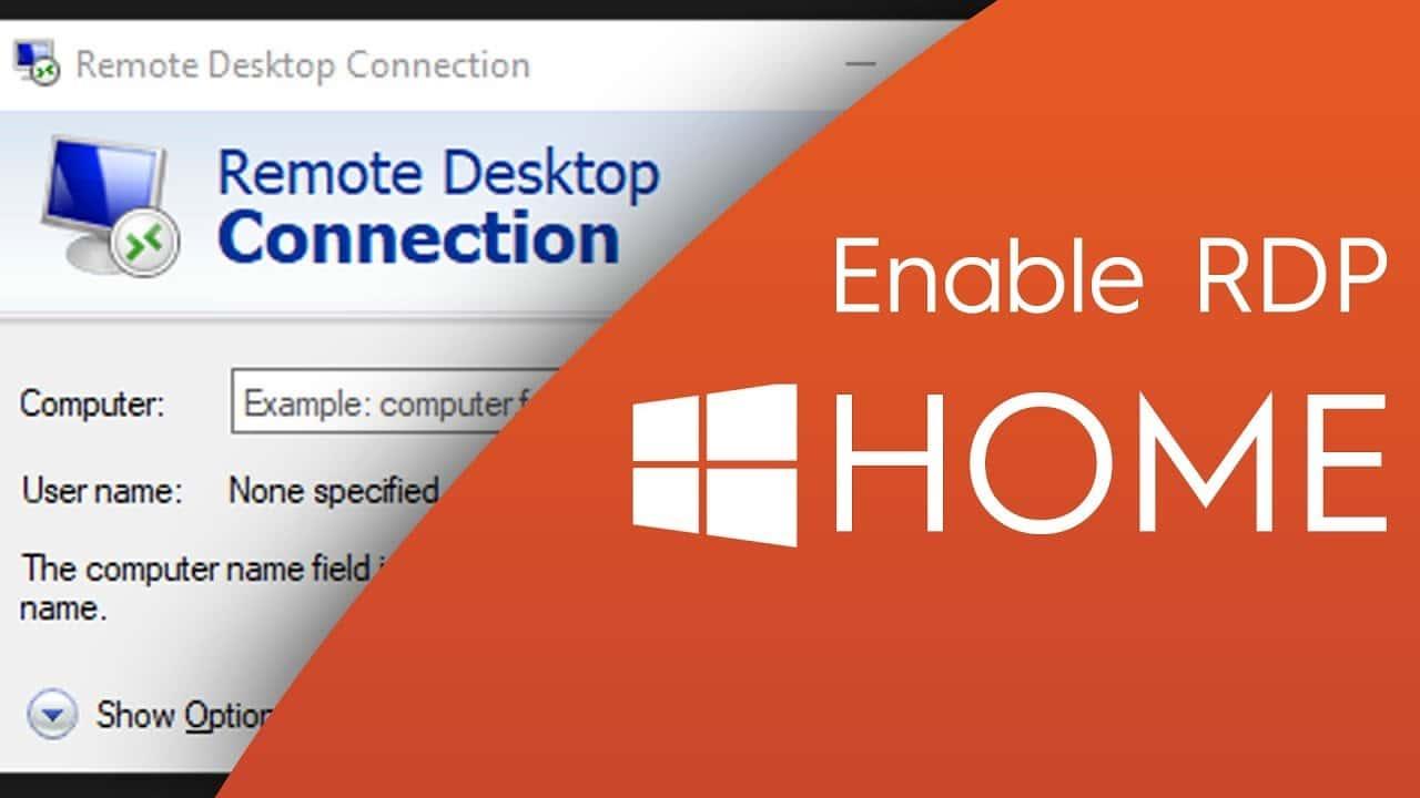 Comment activer la fonctionnalité Bureau à distance (RDP) dans Windows 10 Home
