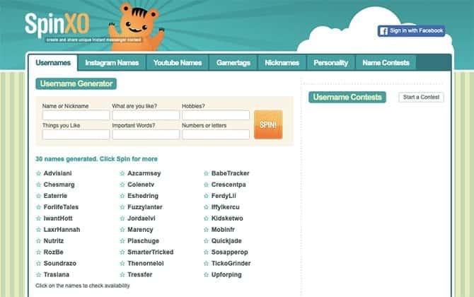 Meilleurs sites Web pour créer des noms d'affichage sympas pour montrer votre identité en ligne - Sites
