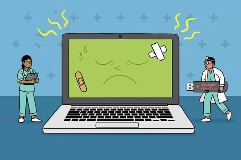 أفضل أدوات مكافحة الفيروسات القابلة للتمهيد المجانية لتنظيف البرامج الضارة من جهاز الكمبيوتر