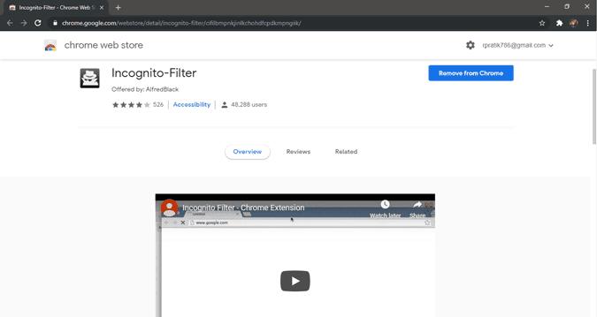 كيفية فتح بحث ويب معين تلقائيًا في وضع التصفح المتخفي في Chrome
