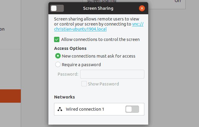 Ubuntu Remote Desktop: compatible VNC et facile à utiliser