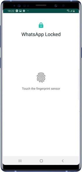 كيفية تمكين قفل بصمة الإصبع على WhatsApp لنظام Android