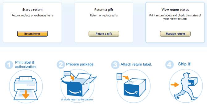 كيفية إرجاع منتج إلى Amazon واسترداد أموالك بسرعة