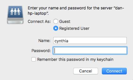 كيفية مشاركة الملفات بسهولة بين Mac و Windows