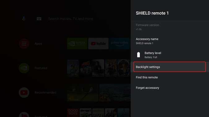 Comment régler le rétroéclairage de la télécommande pour NVIDIA Shield TV 2019 ? - Android TV